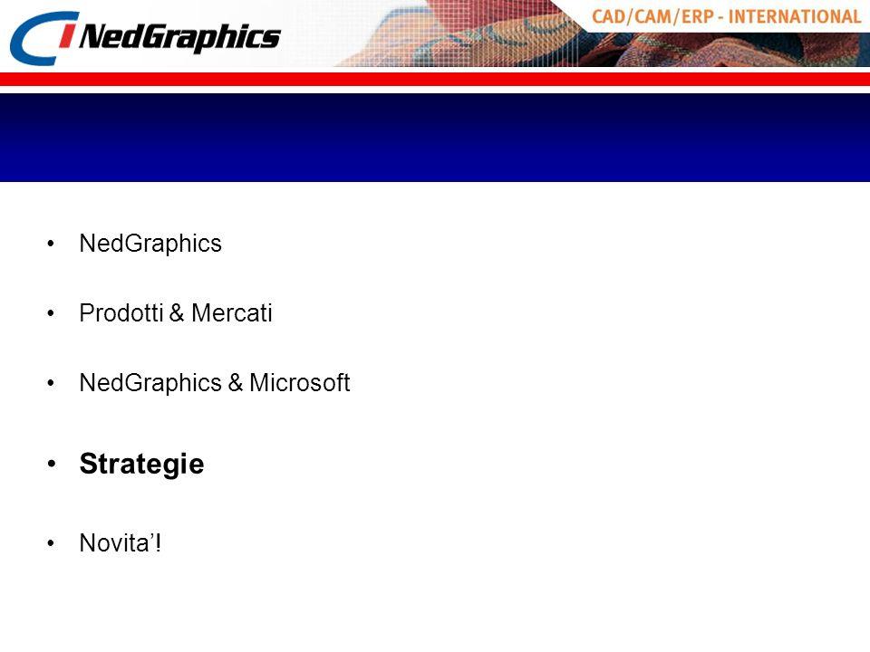 Strategie NedGraphics Prodotti & Mercati NedGraphics & Microsoft