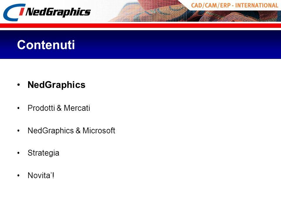 Contenuti NedGraphics Prodotti & Mercati NedGraphics & Microsoft