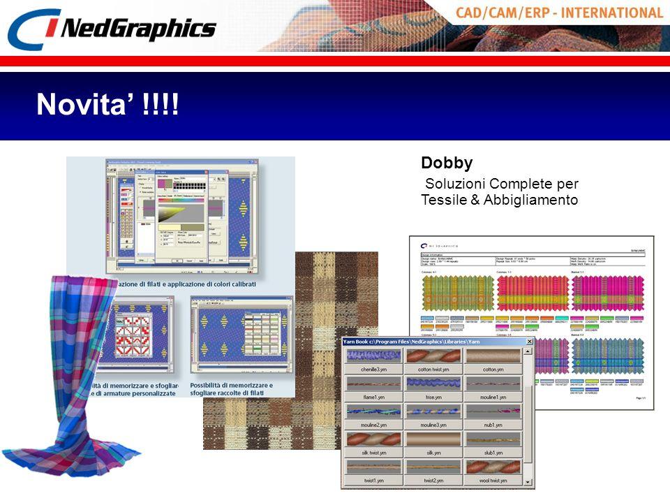 Novita' !!!! Dobby Soluzioni Complete per Tessile & Abbigliamento