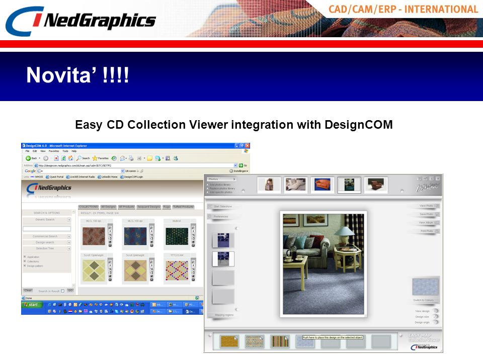 Novita' !!!! Easy CD Collection Viewer integration with DesignCOM