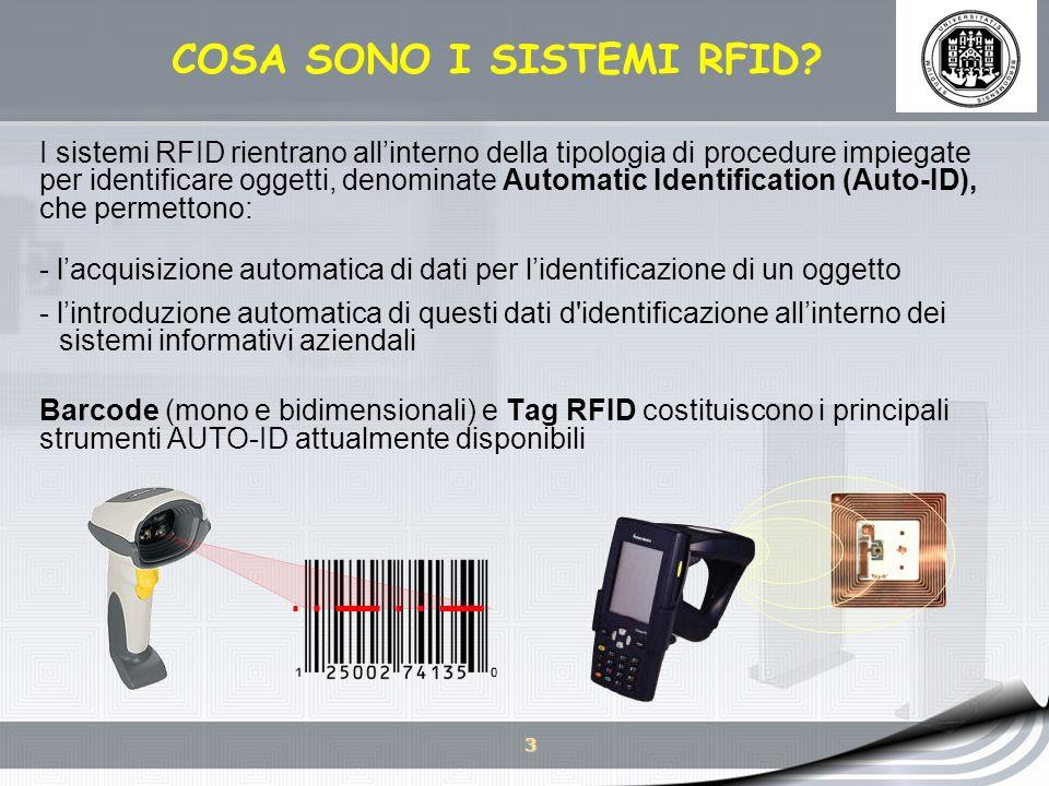 COSA SONO I SISTEMI RFID