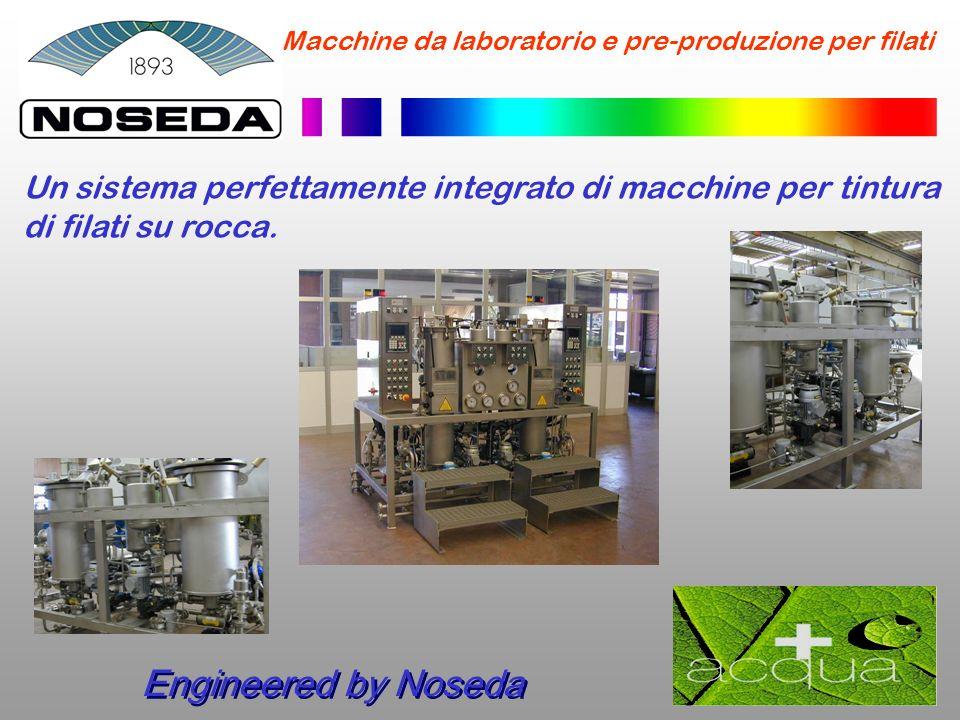 Macchine da laboratorio e pre-produzione per filati