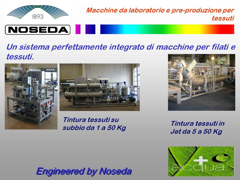 Macchine da laboratorio e pre-produzione per tessuti