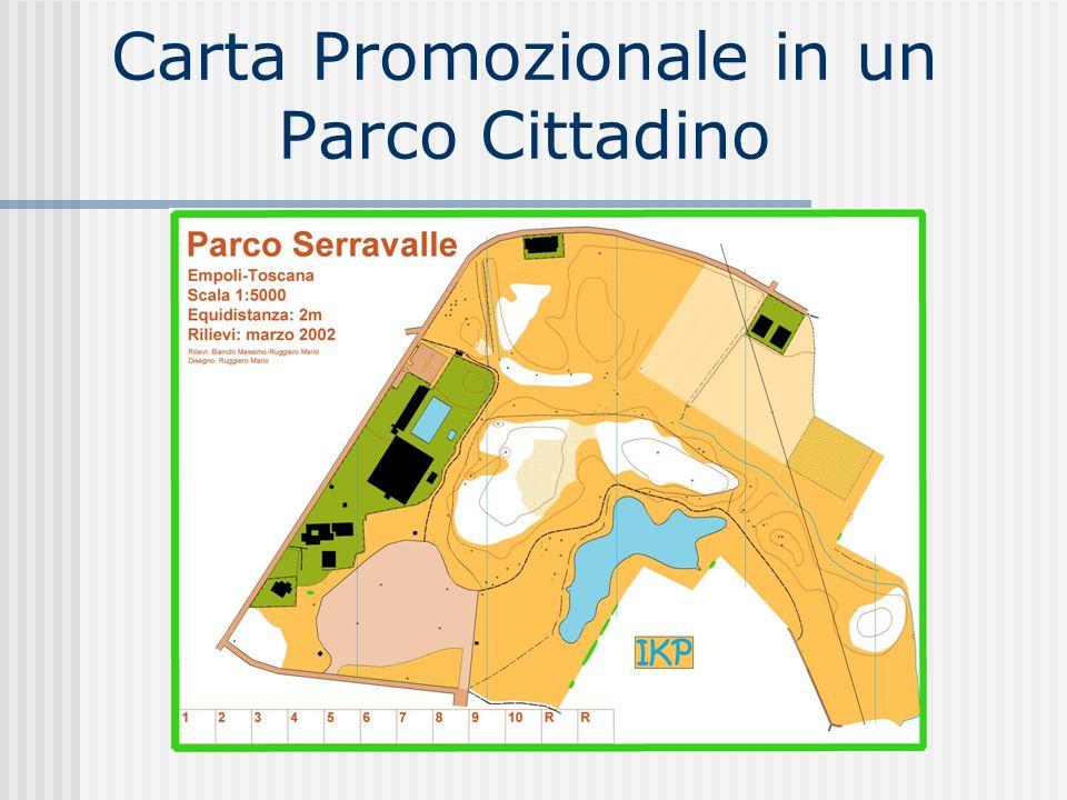 Carta Promozionale in un Parco Cittadino