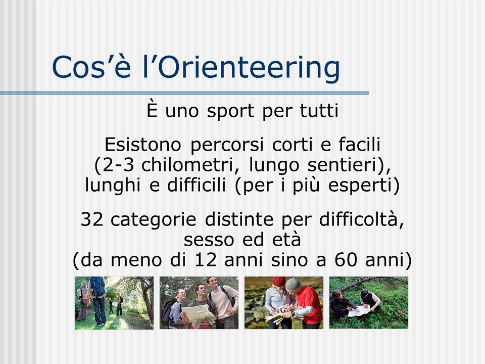 Cos'è l'Orienteering È uno sport per tutti