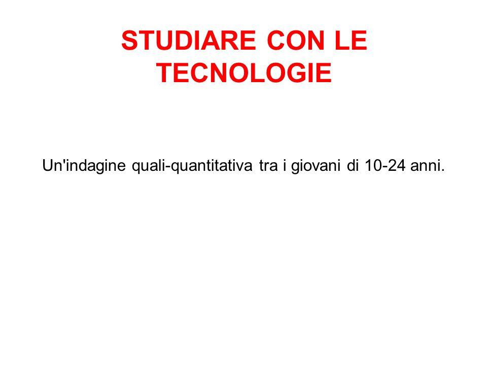STUDIARE CON LE TECNOLOGIE