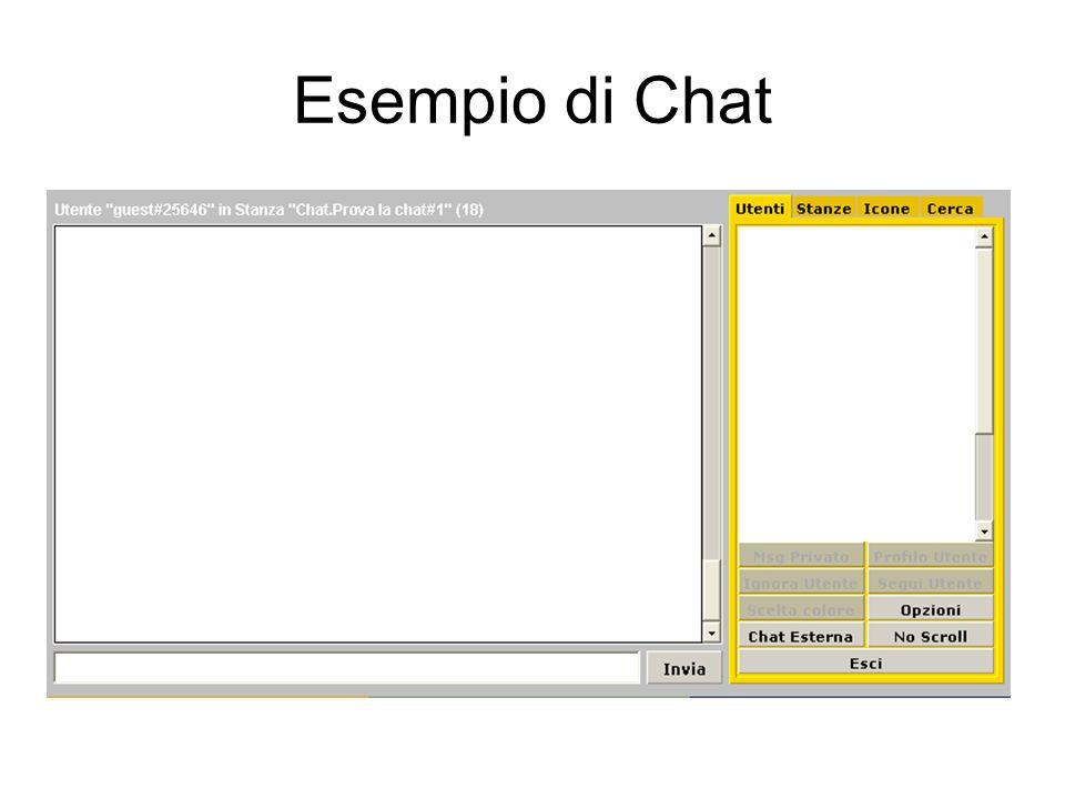 Esempio di Chat