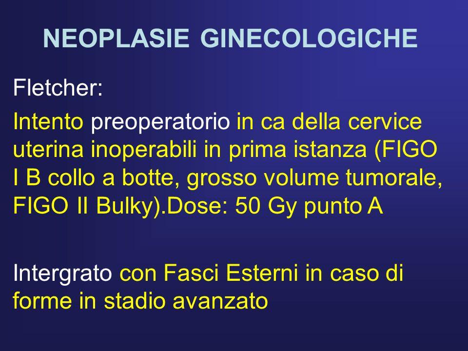 NEOPLASIE GINECOLOGICHE