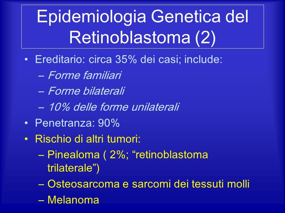 Epidemiologia Genetica del Retinoblastoma (2)