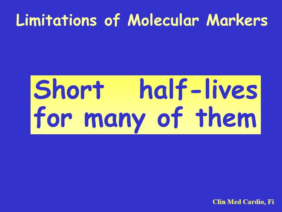 Limitations of Molecular Markers