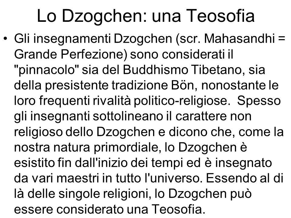 Lo Dzogchen: una Teosofia