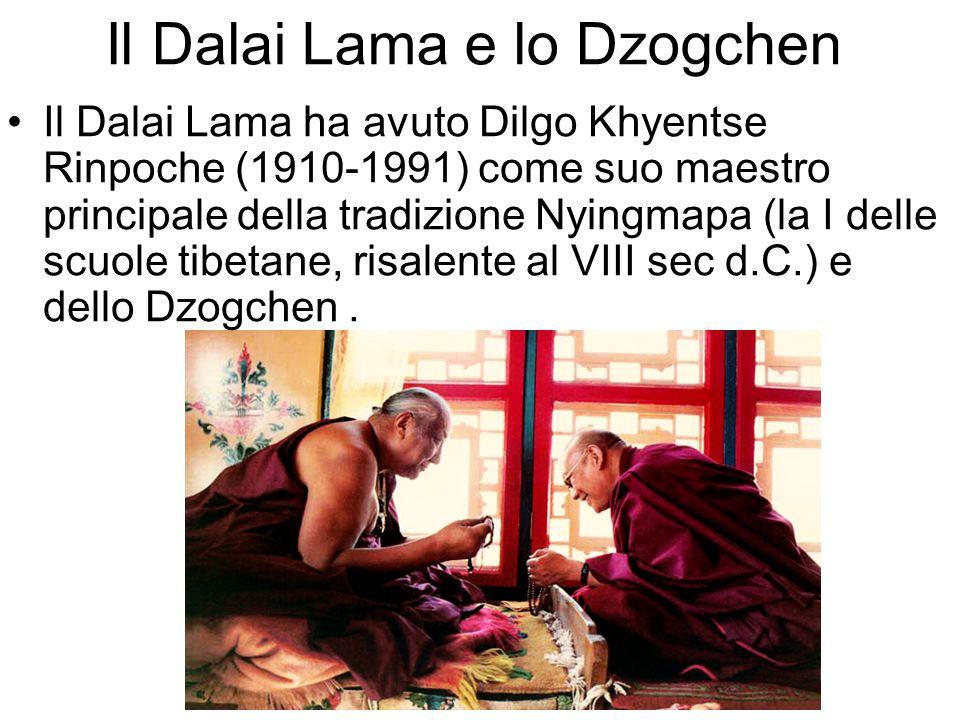 Il Dalai Lama e lo Dzogchen