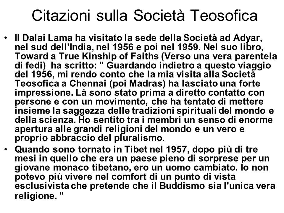 Citazioni sulla Società Teosofica