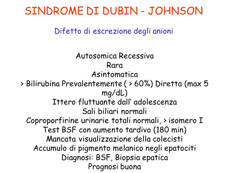 SINDROME DI DUBIN - JOHNSON