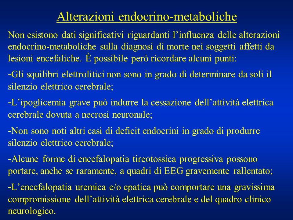 Alterazioni endocrino-metaboliche