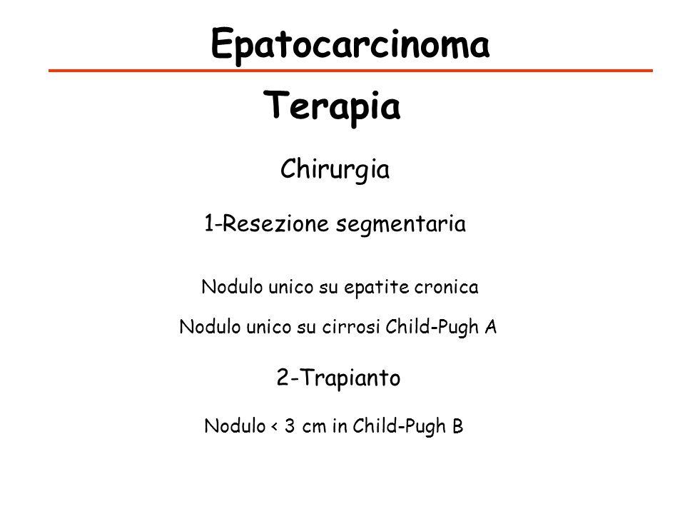 Epatocarcinoma Terapia