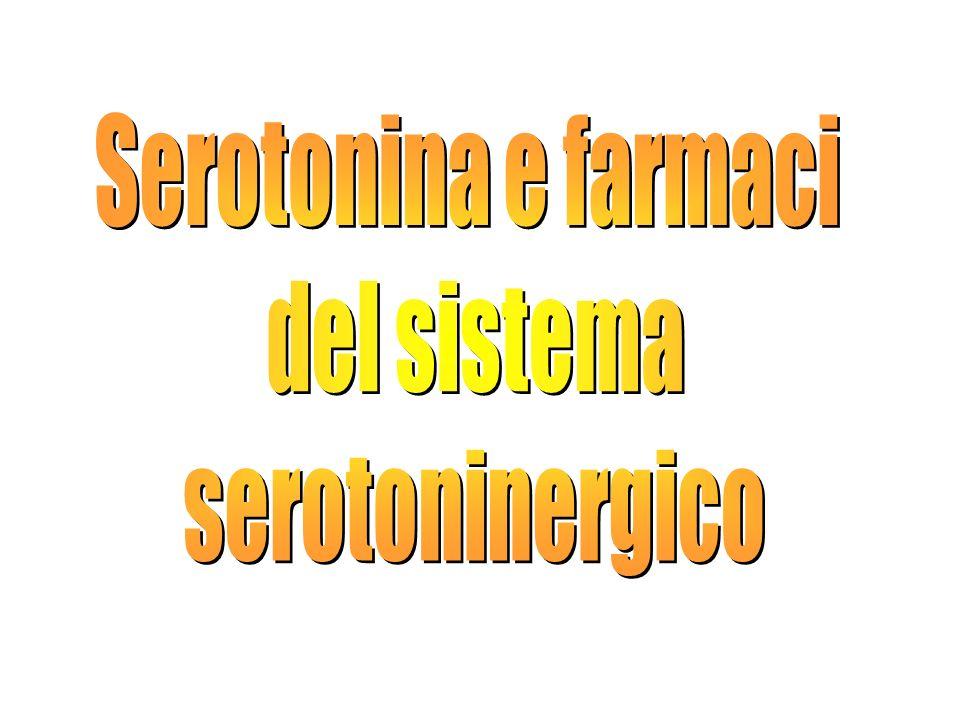 Serotonina e farmaci del sistema serotoninergico