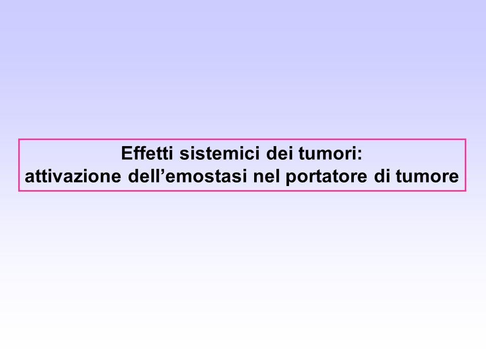 Effetti sistemici dei tumori: