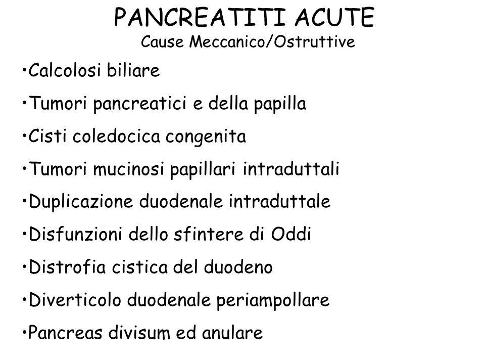 Cause Meccanico/Ostruttive