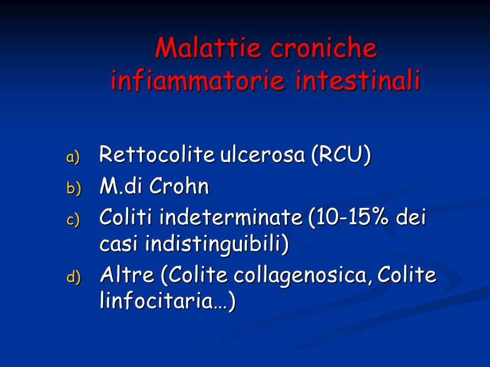 Malattie croniche infiammatorie intestinali