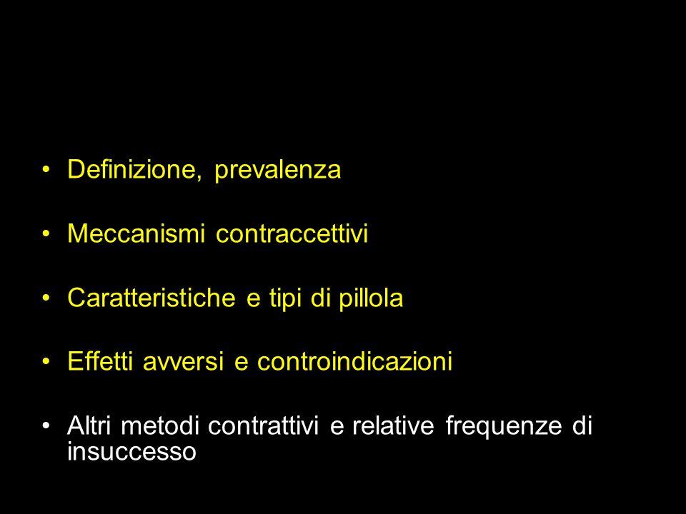 Definizione, prevalenza