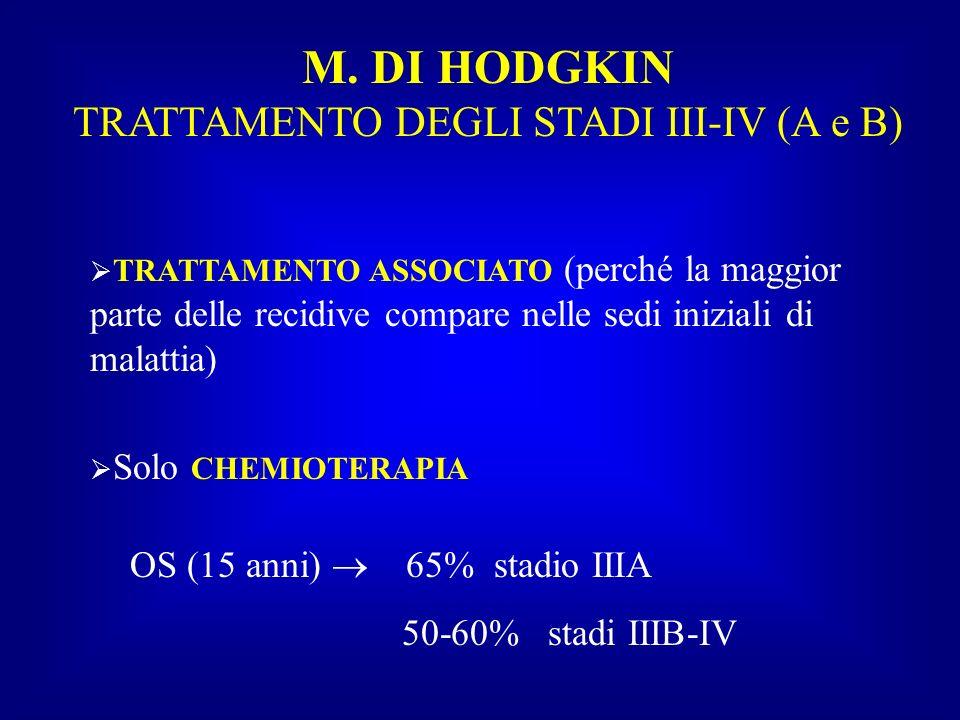 TRATTAMENTO DEGLI STADI III-IV (A e B)