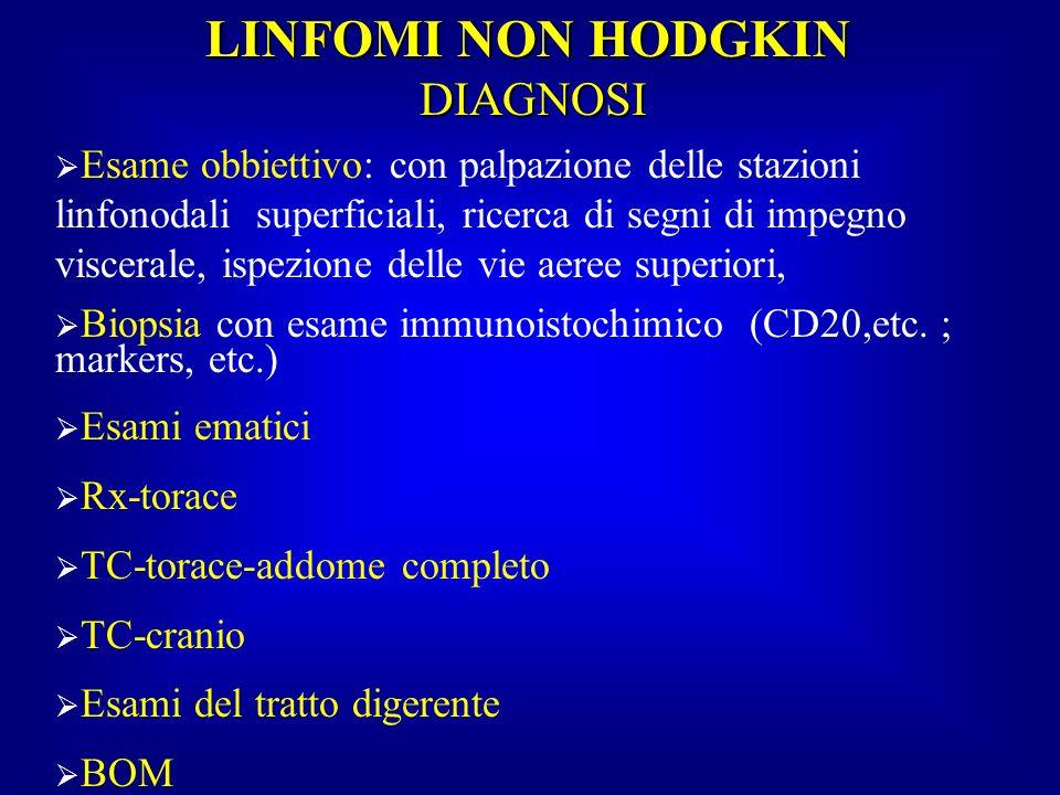 LINFOMI NON HODGKIN DIAGNOSI