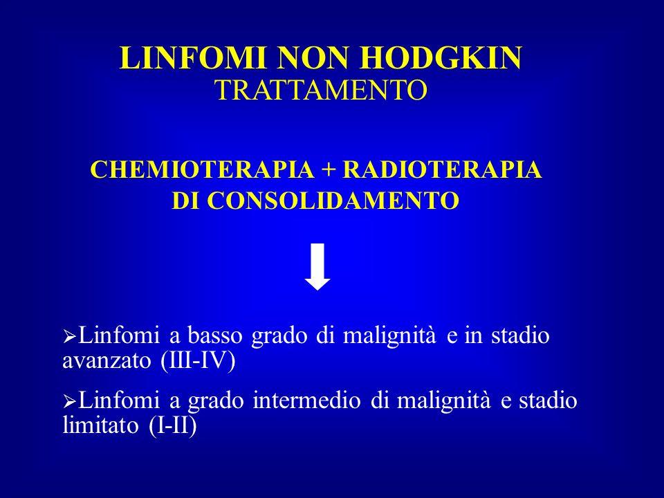CHEMIOTERAPIA + RADIOTERAPIA DI CONSOLIDAMENTO
