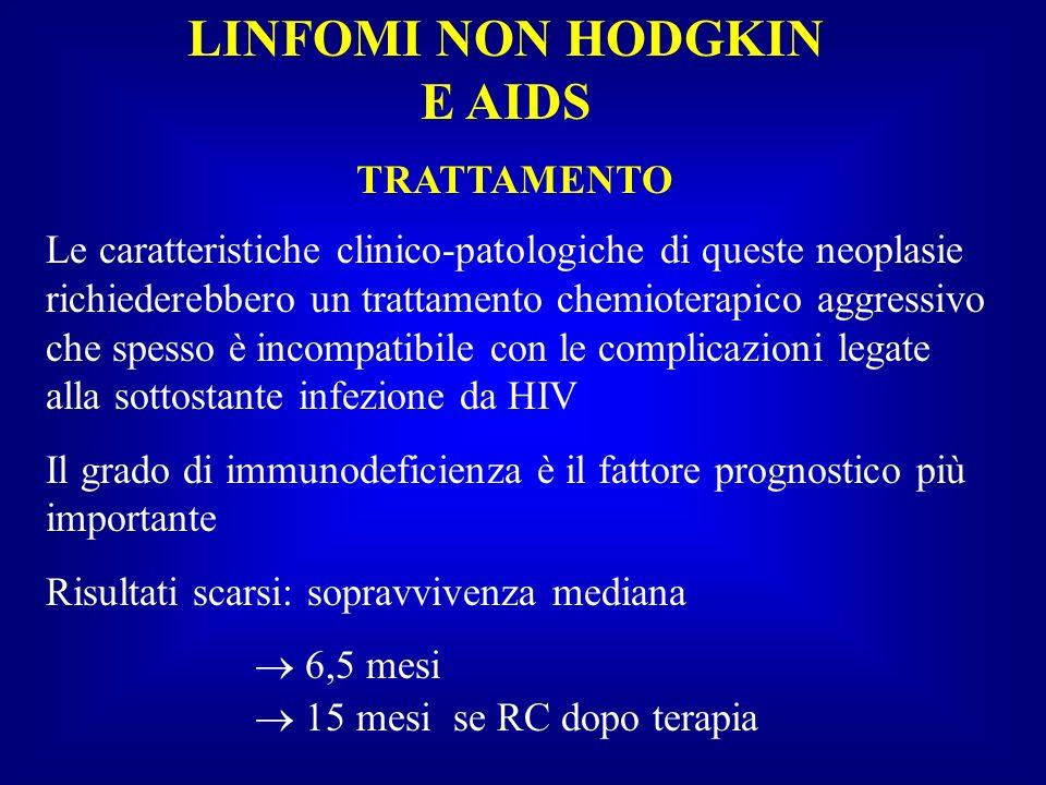 LINFOMI NON HODGKIN E AIDS