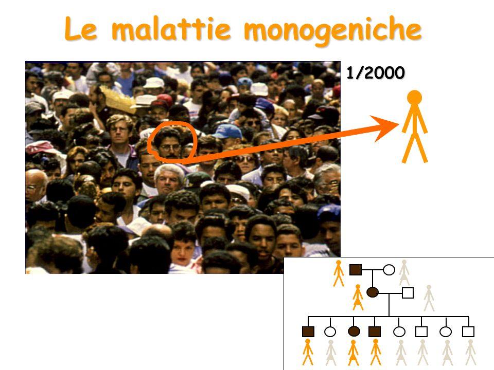 Le malattie monogeniche