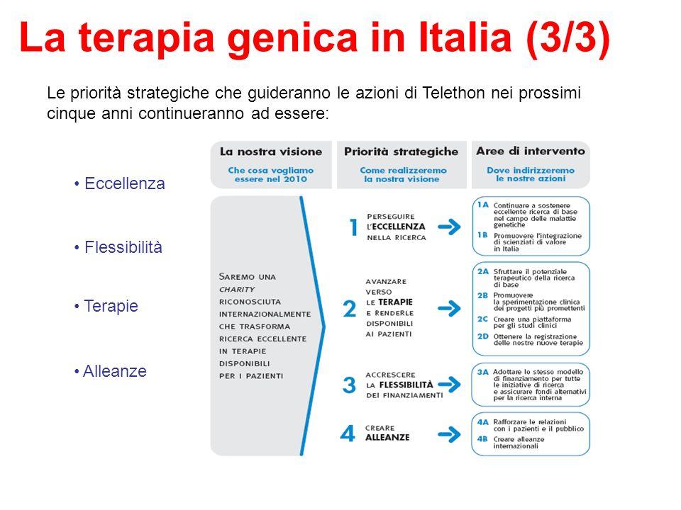 La terapia genica in Italia (3/3)