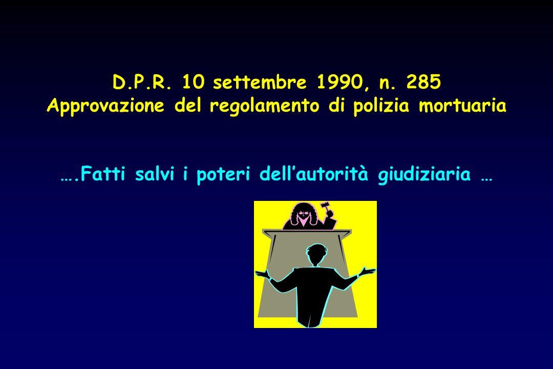 Approvazione del regolamento di polizia mortuaria