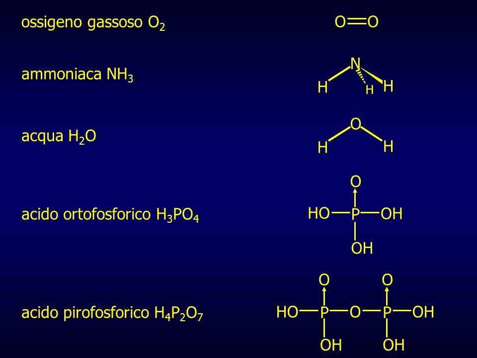 acido ortofosforico H3PO4