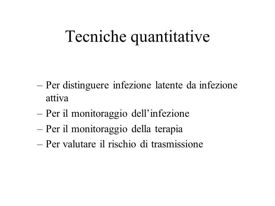 Tecniche quantitative