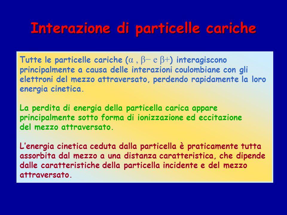 Interazione di particelle cariche