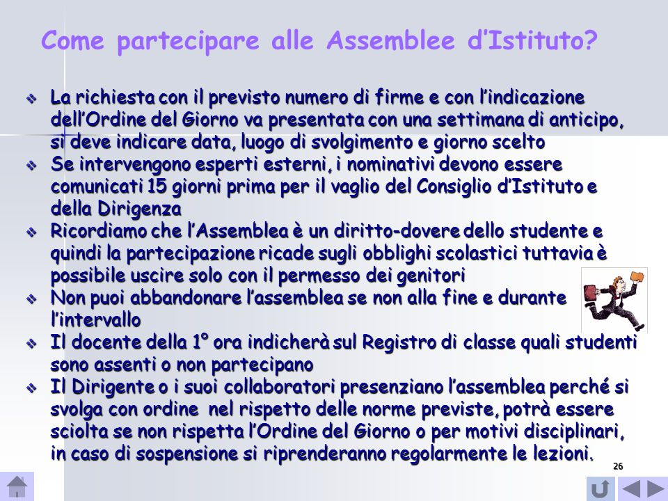 Come partecipare alle Assemblee d'Istituto