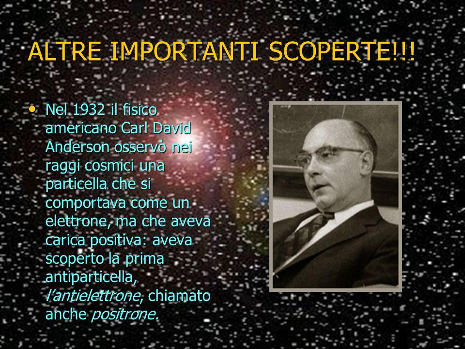 ALTRE IMPORTANTI SCOPERTE!!!