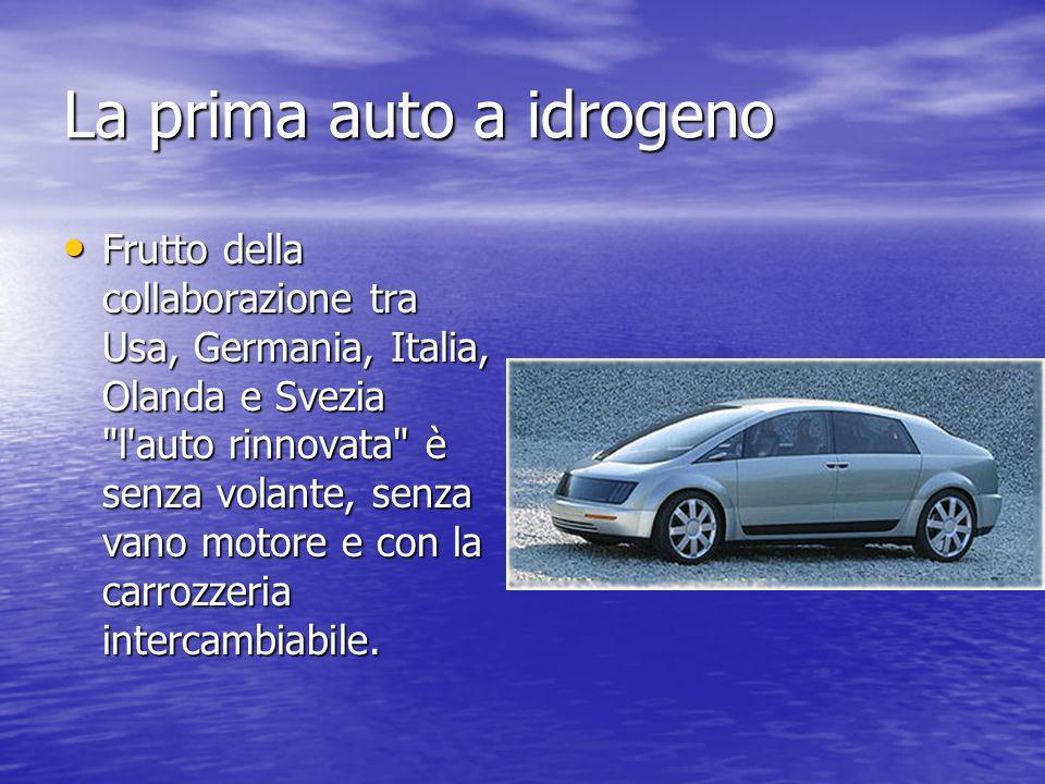 La prima auto a idrogeno