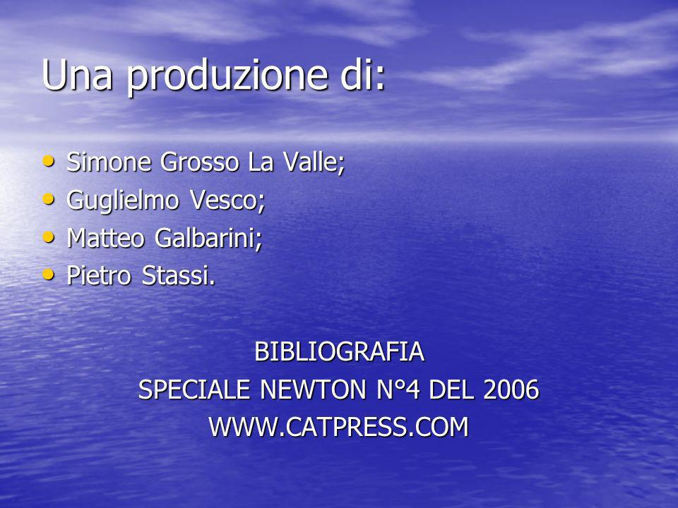 Una produzione di: Simone Grosso La Valle; Guglielmo Vesco;