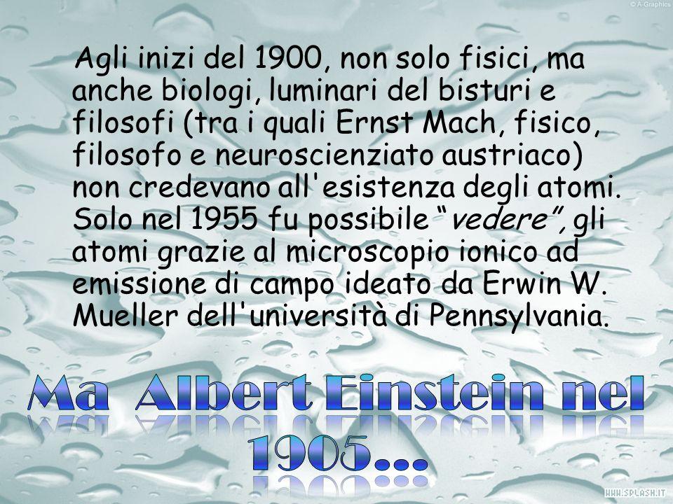 Ma Albert Einstein nel 1905…