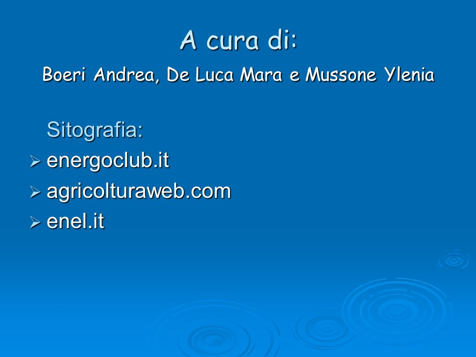 A cura di: Boeri Andrea, De Luca Mara e Mussone Ylenia