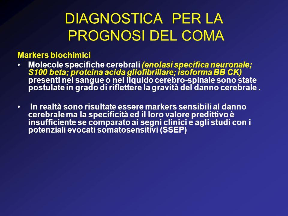 DIAGNOSTICA PER LA PROGNOSI DEL COMA