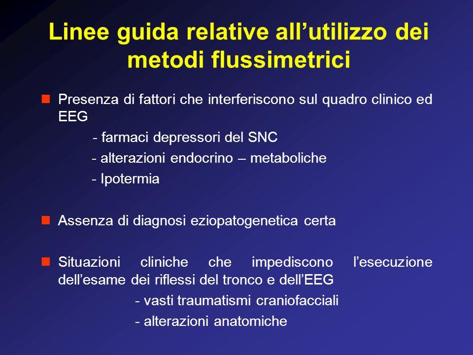 Linee guida relative all'utilizzo dei metodi flussimetrici