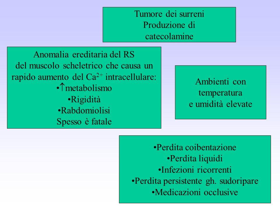 Anomalia ereditaria del RS del muscolo scheletrico che causa un