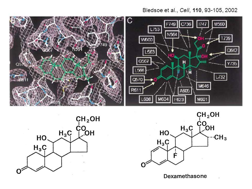 Bledsoe et al., Cell, 110, 93-105, 2002