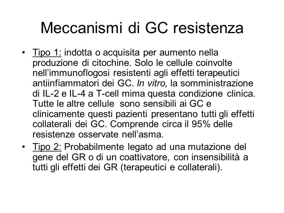 Meccanismi di GC resistenza