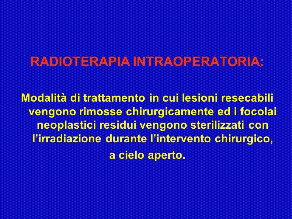 RADIOTERAPIA INTRAOPERATORIA: