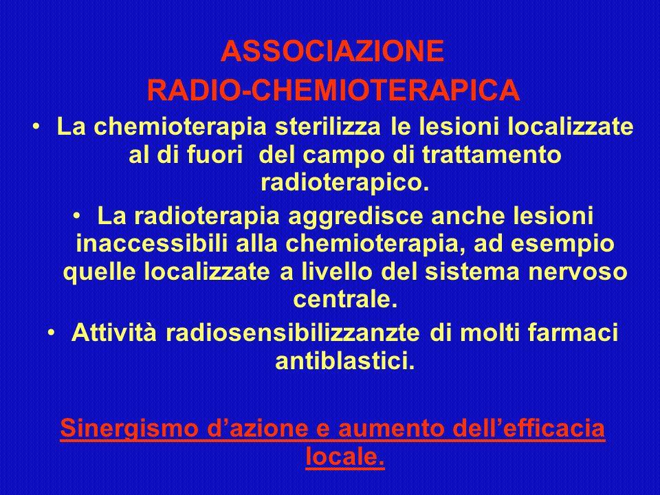 ASSOCIAZIONE RADIO-CHEMIOTERAPICA