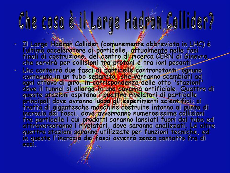 Che cosa è il Large Hadron Collider
