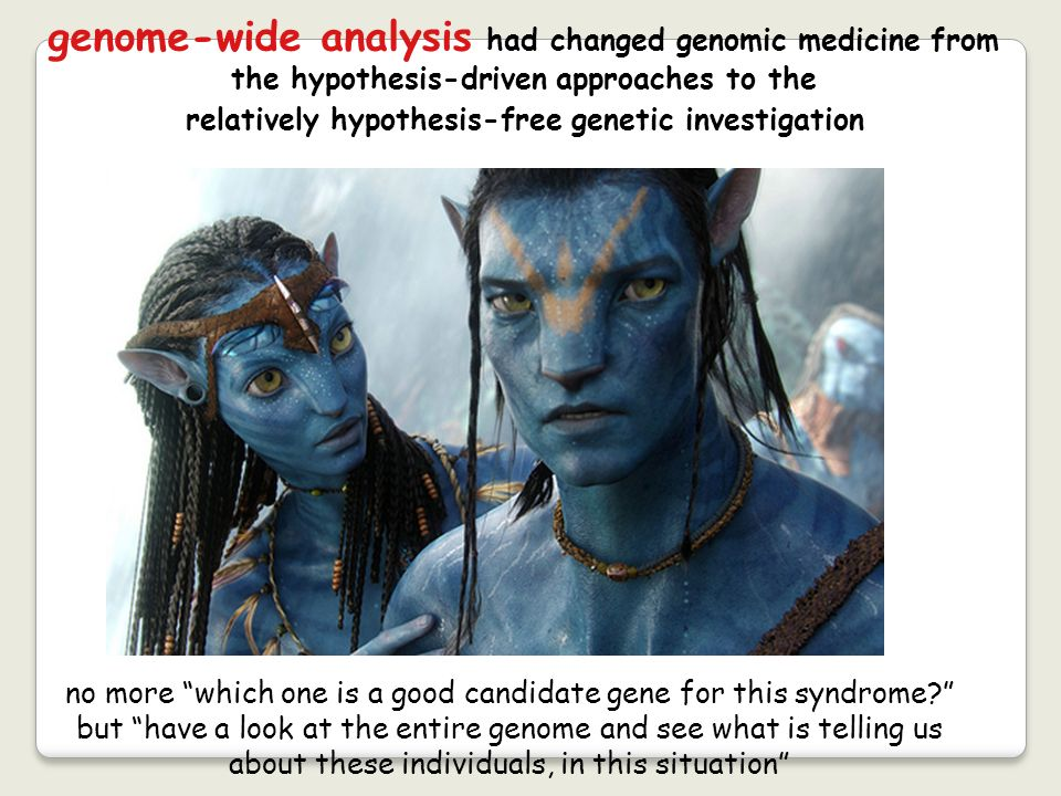 genome-wide analysis had changed genomic medicine from